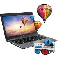 "Notebook Positivo Stilo XR5150 Intel Quad Core - 4GB 500GB LED 14"" Linux"