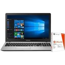"Notebook Samsung Expert X50 Intel Core i7 - 8GB 1TB LED 15,6"" + Pacote Office 365 Personal"
