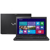 Notebook Sony VAIO SVS15125CBB c/ Intel® Core i7 - 6GB 750GB Windows 8 LED 15 HDMI Blu-Ray