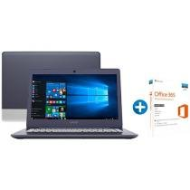 "Notebook Vaio C14 VJC141F11X-B0111L Intel Core i3 - 4GB 1TB LED 14"" + Microsoft Office 365 Personal"