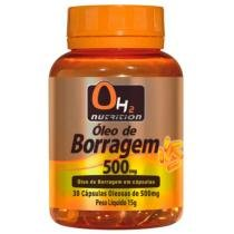 Óleo De Borragem 500 Mg 30 Softgels - OH2 Nutrition