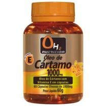 Óleo De Cártamo 1000 Mg 60 Softgel - OH2 Nutrition