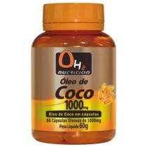Óleo De Coco 1000 Mg 60 Softgels - OH2 Nutrition