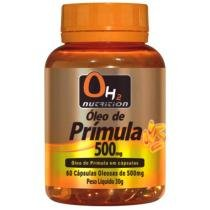 Óleo De Prímula 500 Mg 60 Softgels - OH2 Nutrition