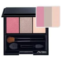 Palheta de Sombras Luminizing Satin Eye Color Trio - Cor Pink Sands - Shiseido