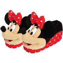Pantufa Adulto Feminino Minnie