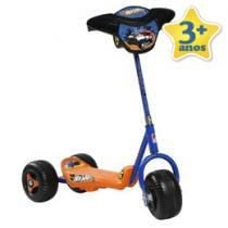 Patinete Hot Wheels 3 Rodas