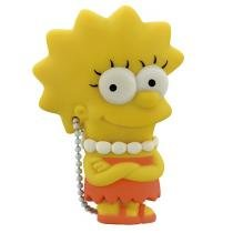 Pen Drive 8GB Multilaser - Lisa Simpsons