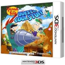 Phineas and Ferb: Quest for Cool Stuff - para Nintendo 3DS - Majesco Entertainment