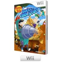 Phineas and Ferb: Quest for Cool Stuff - para Nintendo Wii - Majesco Entertainment