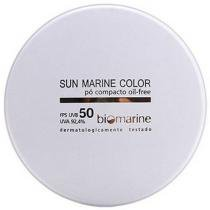 Pó Compacto Sun Marine Color Compacto FPS50 - Cor Natural - Biomarine