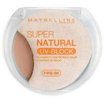 Pó Facial Compacto Super Natural UV-Block - Cor 01 - Médio - Maybelline