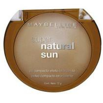 Pó Facial Super Natural Sun - Cor 21 Golden Sun - Maybelline