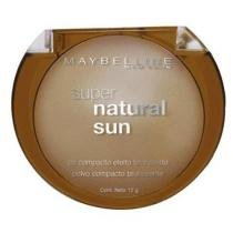 Pó Facial Super Natural Sun - Cor 22 True Sun - Maybelline