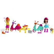 Polly Pocket Piquenique com Moto - Mattel