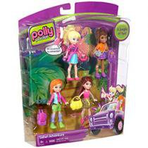 Polly Pocket Turma da Polly Safari Party - Mattel