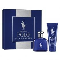 Polo Blue Eau de Toilette Ralph Lauren - Kit - Kit de Perfume Masculino 75ml + Gel de Banho 100ml