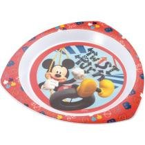 Prato Raso Triangular Mickey Disney - Multikids Baby