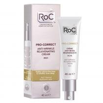 Pro - 40ml - Correct Cream Rich Roc  Fluido Facial Antirrugas