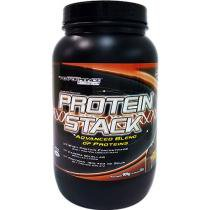 Protein Stack 909g Chocolate Performance Nutrition - Proteína Concentrada Isolada e Caseína