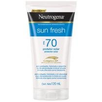 Protetor Solar Sun Fresh FPS 70 120ml - Neutrogena