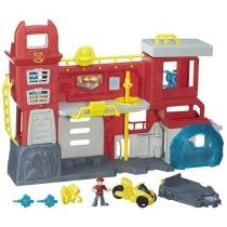 Quartel General dos Bombeiros de Griffin Rock - Playskool Heroes Transformers Rescue Bots Hasbro