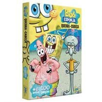 Quebra-Cabea Jak Bob Esponja 100 Peas