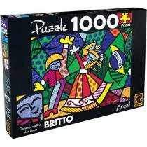 Quebra-Cabea Romero Britto 1000 Peas