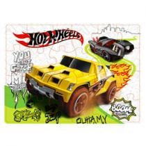 Quebra-Cabeas Hot Wheels Carro Off Road