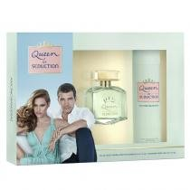 Queen of Seduction Eau de Toilette Antonio Banderas - Perfume Feminino 80ml  Desodorante 150ml - Antonio Banderas