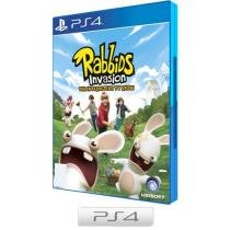 Rabbids Invasion para PS4 - Ubisoft