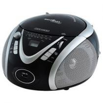 Rádio AM/FM 3,4W CD, MP3 e MP4 Player
