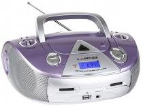 Rádio MP3 CD AM/FM 4 Watts RMS