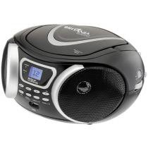 Rádio Portátil AM/FM com CD/MP3 Player Entrada USB - BS9 Britânia