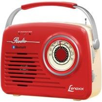 Rádio Portátil Lenoxx AM/FM 5W - RB 80 Bluetooth
