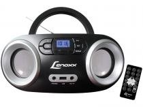 Rádio Portátil Lenoxx FM 5W CD Player Display LED - Boombox BD 1360 Bluetooth Entrada USB
