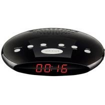 Rádio Relógio Despertador/Alarme FM - Display Digital - Multilaser SP167