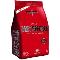 Refil Super Whey Reforce Morango 907g - Integralmédica