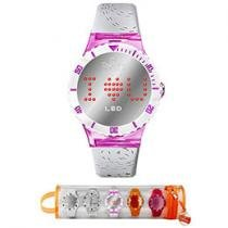 Relgio Champion Digital LED Troca Pulseira