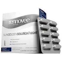 Rennovee SunGoldenSolution Night 30 Cápsulas