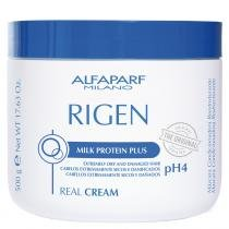 Rigen Real Cream ph4 Alfaparf - 500g - Máscara Condicionadora Reestruturante