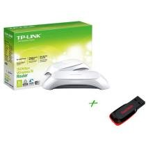 Roteador Wireless 150 Mbps TP-Link - TL-WR720N - + Pen Drive 4GB + 2 GB de Backup On Line