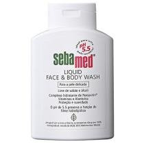 Sabonete Líquido Liquid Face & Body Wash 200 ml - Sebamed