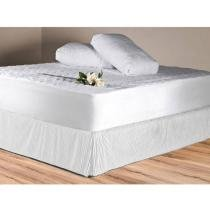 Saia para Cama Queen Size Pliss