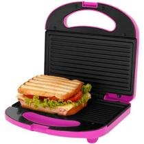 Sanduicheira/Mini Grill Cadence Easy Meal Color - SAN235 750W Antiaderente Dispensa Uso de Óleo