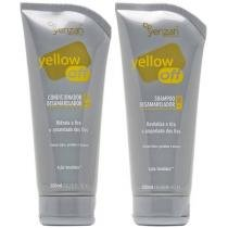 Shampoo Yellow Off Desamarelador 200ml - Yenzah + Condicionador 200ml