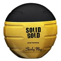 Shirley May Solid Gold - Perfume Masculino Eau de Toilette 100ml