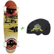 Skate Sunset Herby - Flying + Capacete Solo