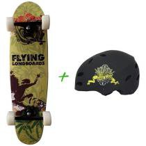 Skate Sunset Surfer - Flying + Capacete Solo