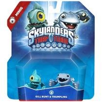 Skylanders Trap Team Mini 2-Pack Gill Runt & Thump - Thumpling para PS4 PS3 XBOX 360 XBOX ONE 6 Peças